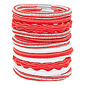B Toddler Girl's Back To School Red Hair Ties