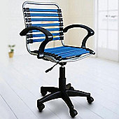 Bungee - Elastic Office Chair - Blue / Black