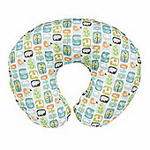Boppy Cotton Nursing Pillow (Stamp Collector)