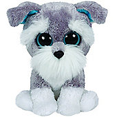 TY Beanie Boo Plush - Whiskers the Schnauzer 15cm