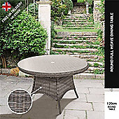 BillyOh Momo - 120cm Full-Weave Rattan Round Dining Table