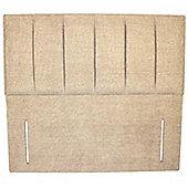Double (135cm) Malaga Headboard - Chenille Sand