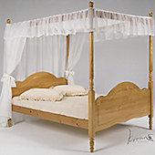 Verona Veneza 4 Poster Bed Frame - Double