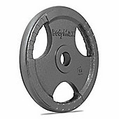 Bodymax Olympic Cast Iron Tri-Grip Weight Disc Plate (Single) - 20kg