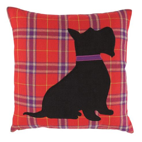 buy f f home scotty dog cushion from our cushions range. Black Bedroom Furniture Sets. Home Design Ideas