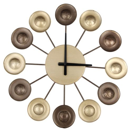 Pacific Lifestyle Metal Circle Wall Clock