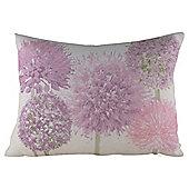 Allium Flower Cushion