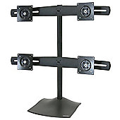 DS100 Quad Monitor Desk Stand