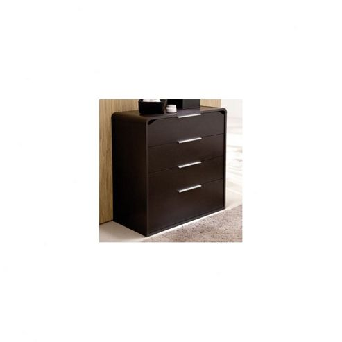 Demeyere (Furniture) Boreal Four Drawer Chest in Dark Chocolate