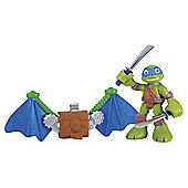 Teenage Mutant Ninja Turtles Pre-Cool Half Shell Leo with Glider Wings Figure