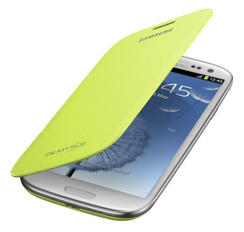 Samsung Original Notebook Style Flip Case Galaxy S3 - Mint