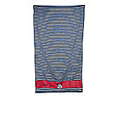 Disney Minnie Mouse Stripe Blue Printed Beach Towel