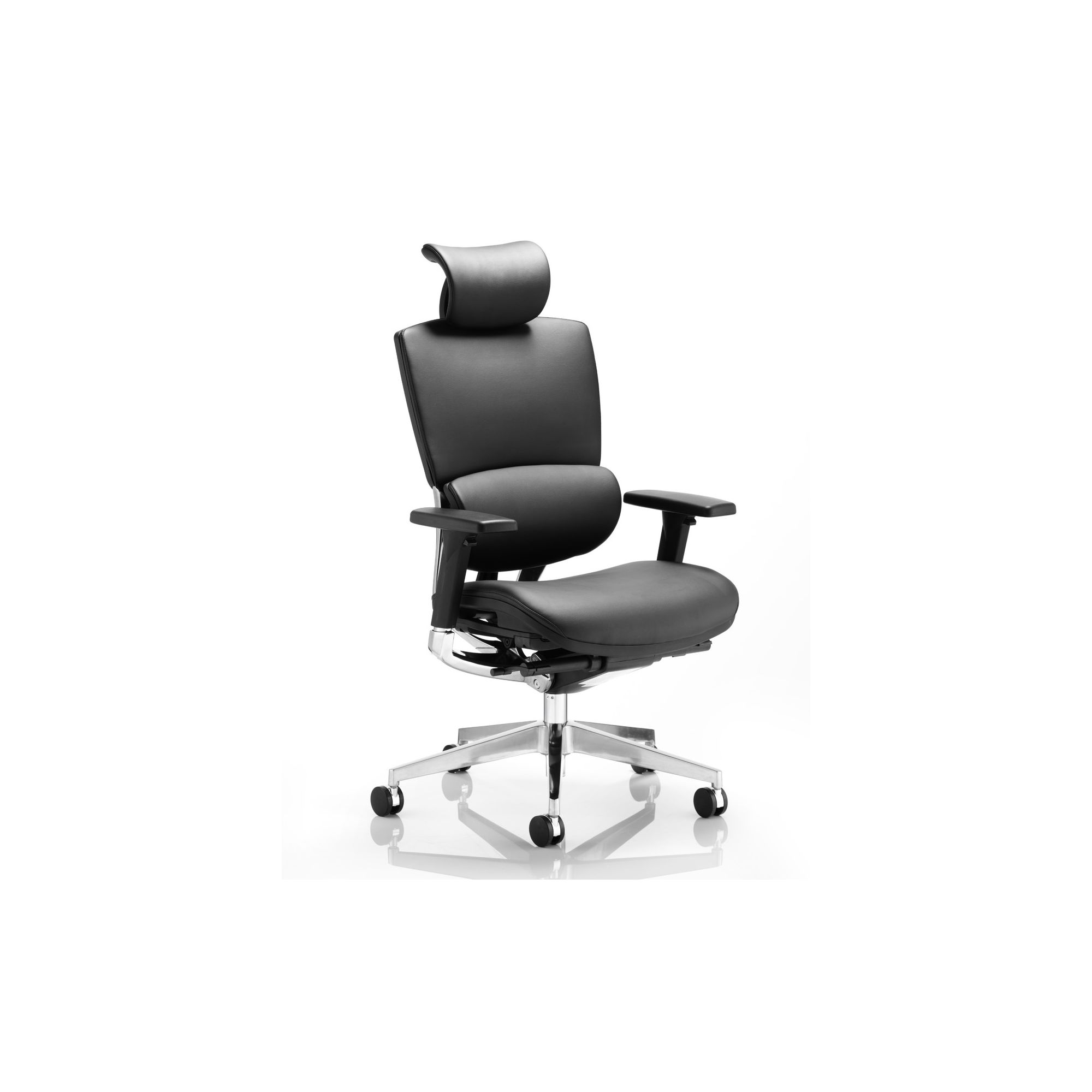 Dynamic Alpha Leather Chair at Tesco Direct