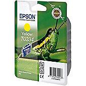 Epson T0334 Yellow Ink Cartridge for Stylus Photo 950 Printer