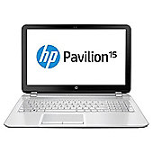 "HP Pavilion 15-n223sa 15.6"" Laptop, Intel Core i3, 8GB Memory, 1TB Storage - White"