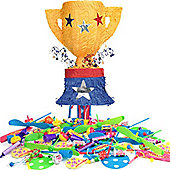 Trophy Pull Pinata Kit