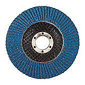 Silverline Zirconium Flap Disc 115mm 40 Grit
