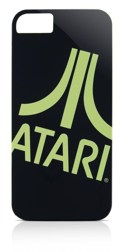Gear4 Atari Logo Clip-On Case Cover for iPhone 5/5S - Green / Black