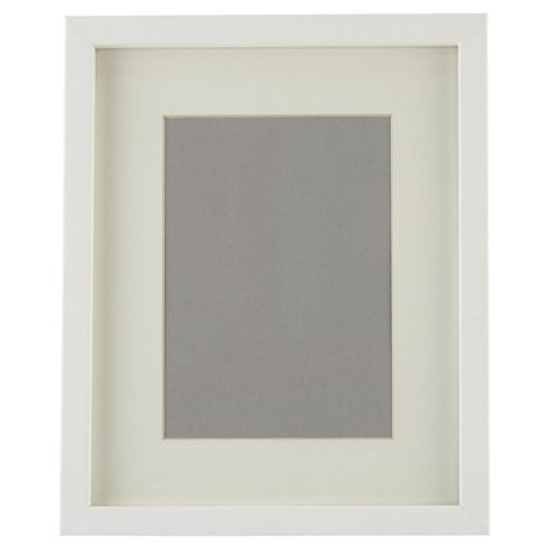 Tesco Basic Photo Frame White 8