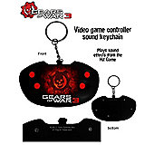 Gears of War 3 Video Game Key Chain/KeyRing - Neca