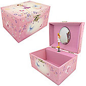 Girls Musical Jewellery Boxes – Purple Fairy