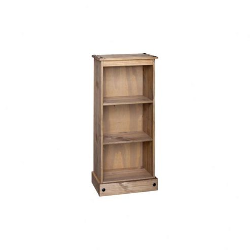 Home Essence New Corona Low Narrow Bookcase