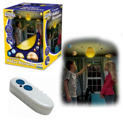 RC Illuminated Solar System for Kids