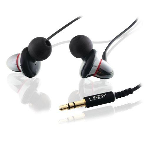 Lindy CROMO IEM-75 Dual Driver Earphones Black