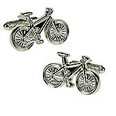 Cyclists Push Bike Novelty Themed Cufflinks