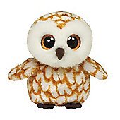 "TY Beanie Boo Buddy 9"" Plush - Swoops Barn owl"