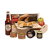 ploughmans lunch with beer (TC53)