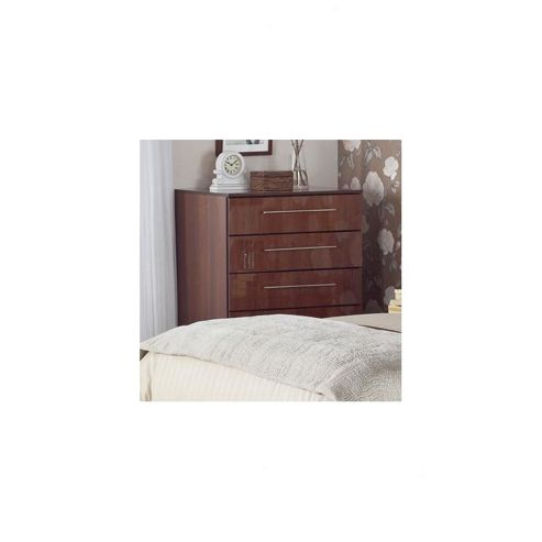 Ideal Furniture New York Four Drawer Chest - American Walnut