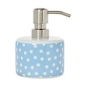 Polka Ceramic Soap Dispenser