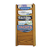 Safco Small Solid Wood Display Pockets