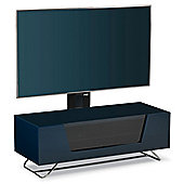 Alphason Chromium Blue Cantilever TV Stand