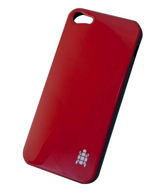 Tortoise™ Soft Gel Case iPhone 5 Gloss Red