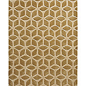 Think Rugs Fusion Beige Tufted Rug - 150 cm x 230 cm (4 ft 11 in x 7 ft 7 in)