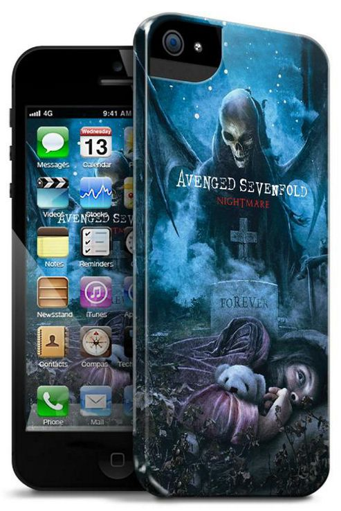 Upfront Case Official Avenge Sevenfold Phone Clip Case