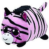 TY - Teeny Tys Plush - Pennie the Pink Zebra
