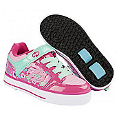 Heelys Thunder Berry/Light Pink/Mint X2 Heely Shoe - Pink