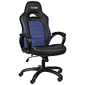 Nitro Concepts C80 Pure Series Gaming Chair Black / Blue NC-C80P-BB-UK