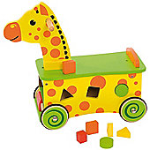 Bigjigs Toys BB027 Giraffe Ride On