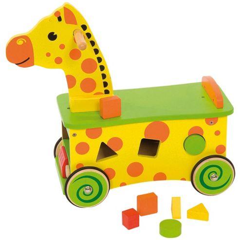 Bigjigs Toys BB027 Giraffe Ride On