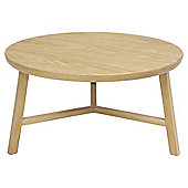 Connecticut Solid Oak Occasional Table