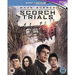 Maze Runner: The Scorch Trials Blu-ray