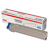 OKI Toner Cartridge for C9600/C9800 Printers (Cyan)