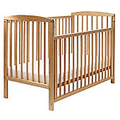 Toddletime Cyprus Dropside Cot (Beech)