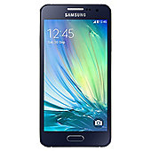 SIM Free - Samsung Galaxy A3 Midnight Black