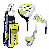 Young Gun Sgs Junior Eagle Right Hand Golf Set + Bags Age 3-5 - Yellow