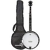 Rocket Metal Pot 5-String Banjo - 30 Hooks